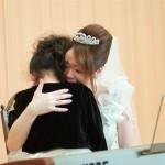 親子揃ってピアノの連弾♫素敵な演奏でした。